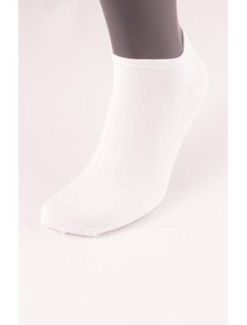 Bonnie Doon Cotton Short Socks white