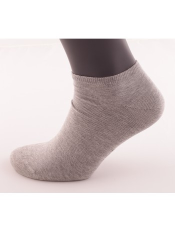 Bonnie Doon Cotton Short Socks light grey heather