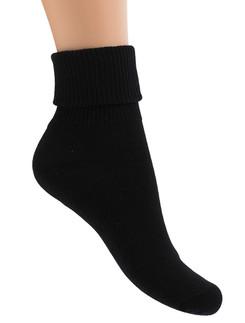Bonnie Doon Triple Turnover Top Cushioned Socks