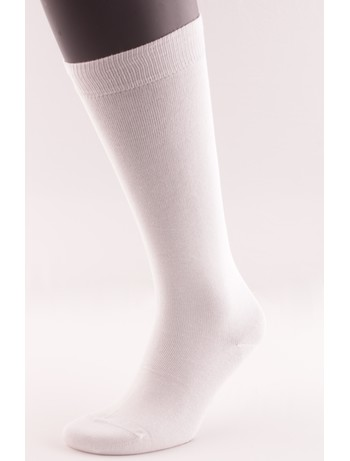 Bonnie Doon Cotton Knee High Socks white