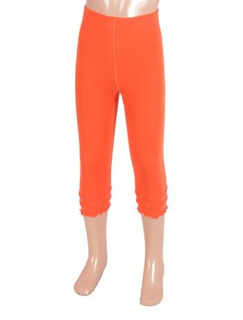 Bonnie Doon Frou Frou Capri Leggings for Children apricot