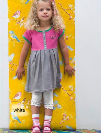 Bonnie Doon Frou Frou Capri Leggings for Children white