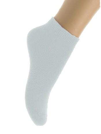 Bonnie Doon Cotton Ankle Socks for Children white