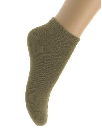Bonnie Doon Cotton Ankle Socks for Children kiwi
