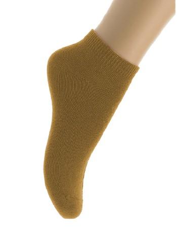 Bonnie Doon Cotton Ankle Socks for Children sand