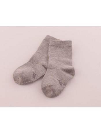 Bonnie Doon Basic Baby Socks light grey heather
