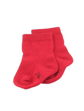 Bonnie Doon Basic Baby Socks strawberry