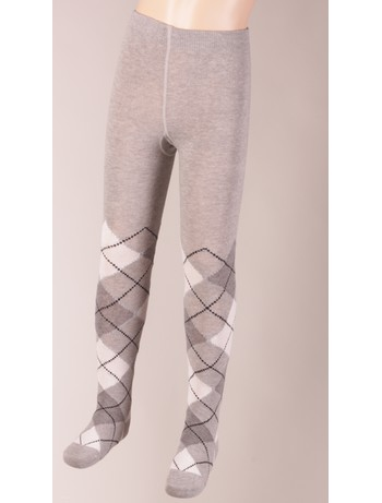Bonnie Doon Argyle Tights for Children light grey heather