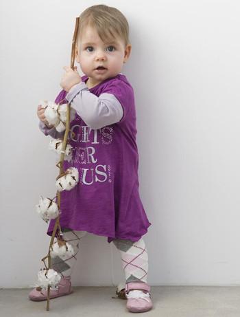 Bonnie Doon Cotton Baby Tights