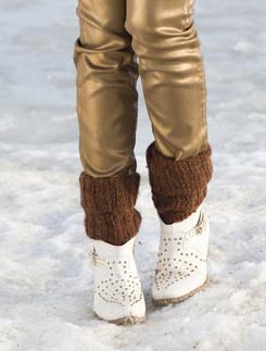 Bonnie Doon Soft & Shiny Leg Warmers