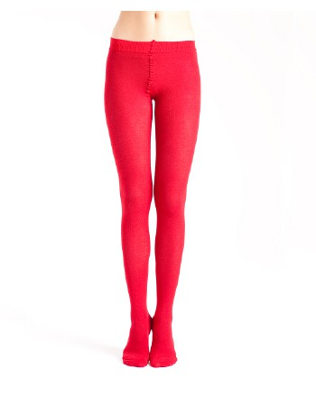 BleuForet Cotton Tights Veloute rouge
