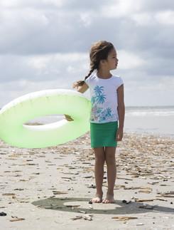 Bonnie Doon Cotton/Lycra Children's Skirt