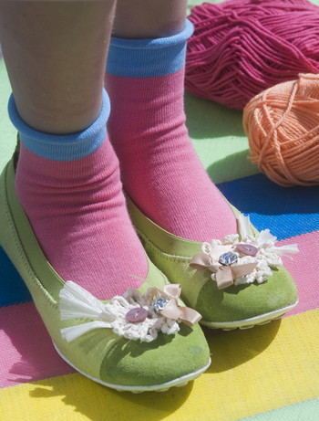 Bonnie Doon Roll Up Children's Socks candy