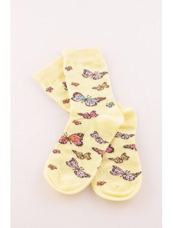 Bonnie Doon Butterflies Children's Socks fairy dust