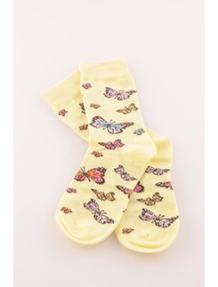 Bonnie Doon Butterflies Children's Socks