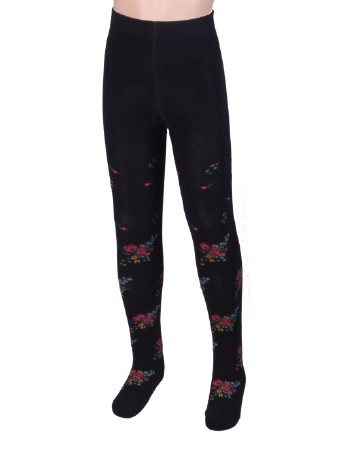 Bonnie Doon Bouquet Tights navy
