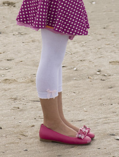 Bonnie  Doon Speckled Bow Leggings