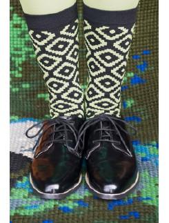 Bonnie Doon Aztec Socks