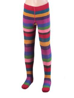 Bonnie Doon Artistic Striped Tights