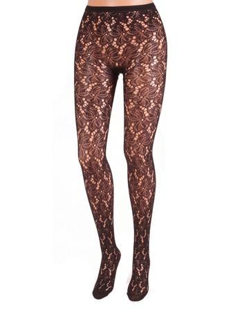 Bonnie Doon Bruges Lace Tights black