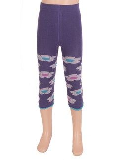 Bonnie Doon Daisy Cotton Leggings for Girls
