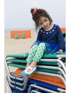 Bonnie Doon Candy Heart Leggings for Girls