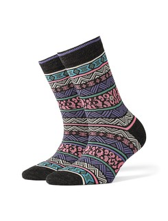 Burlington Fair Isle ladies socks