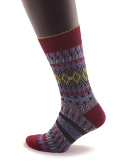 Burlington Faire Isle Socks