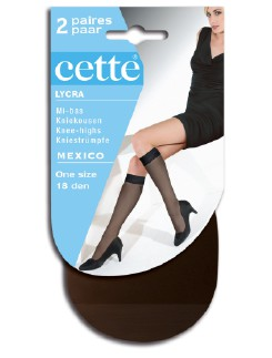 Cette Mexico Knee High Socks Double Pack