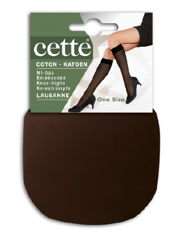 Cette Lausanne Cotton Knee High Socks