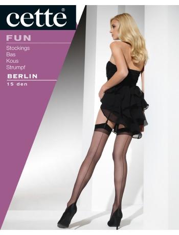 Cette Berlin Back Seamed Stockings 15DEN