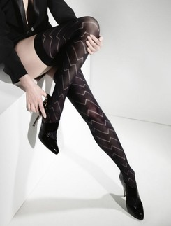 Cette Praha Hold-Ups with Zig-Zag Pattern