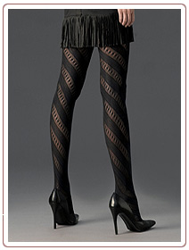 Cette Chelsea Twist-patterned Tights