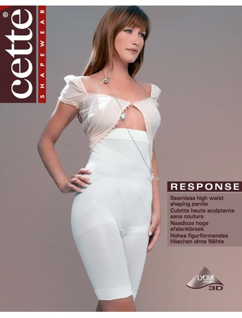 Cette Response High Waist Shapewear Brief off white