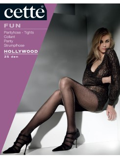 Cette Hollywood Lurex Pantyhose