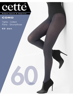 Cette Como opaque pantyhose with diamond pattern