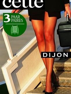 Cette Dijon 20 Crepe Plus Size Tights 3-Pack