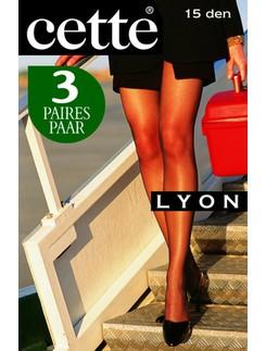 Cette Lyon 15 Fine Crepe Tights 3-Pack