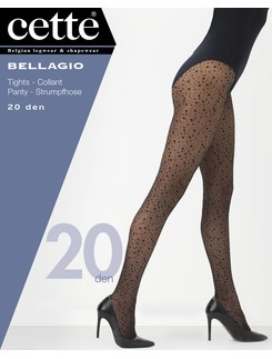 Cette Bellagio dotted sheer Pantyhose Plus Size