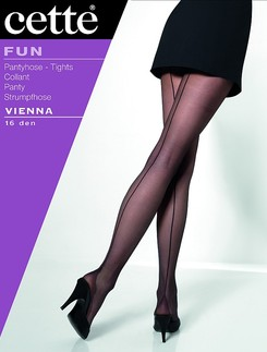 Cette Vienna Back Seamed Tights