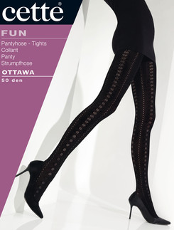 Cette Ottawa Crochet Tights