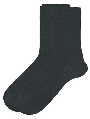 Camano 2 Pack of Women's Socks natural melange