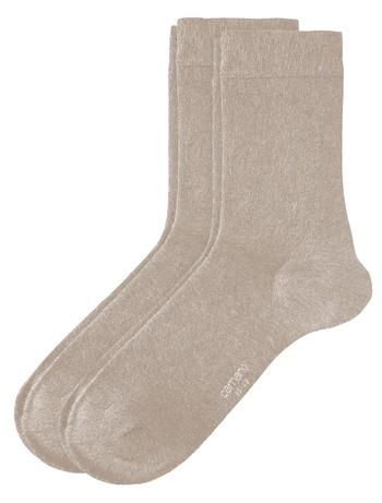 Camano 2 Pack of Women's Socks black