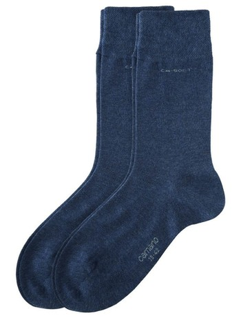 Camano CA-Soft cottons sox with Two-Pack anthracite melange