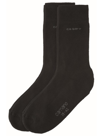 Camano 2pair cotton Socks black