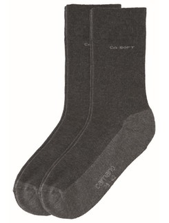 Camano 2pair cotton Socks Wal with extra thik sole