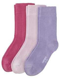 Camano 3 Pack Children's Cotton Socks