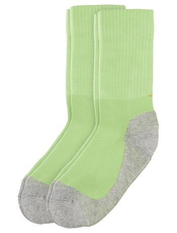 Camano Children Sport Socks Double Pack green flash