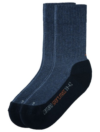 Camano Children Sport Socks Double Pack navy