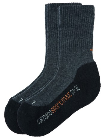 Camano Children Sport Socks Double Pack black